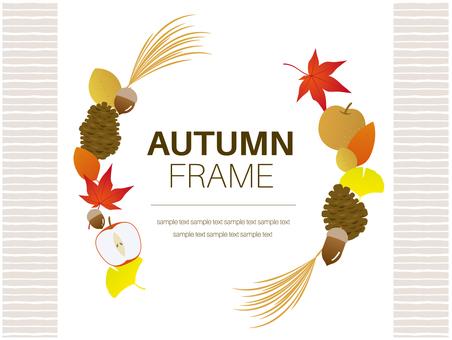 Autumn frame material