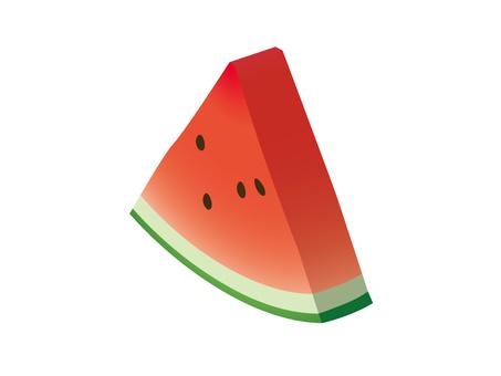 三角形西瓜:堅實