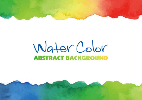 Watercolor texture frame 04