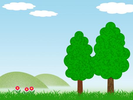 녹색 풍경