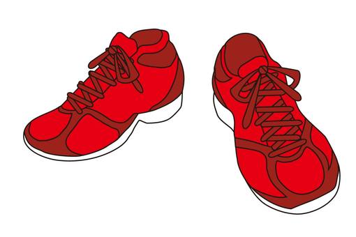 빨간 운동화