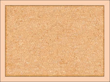 Simple cork board