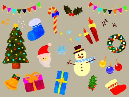Christmas set (retro)