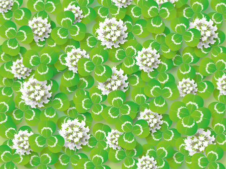 Clover (with white clover)