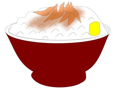 Chicken rice (Gee Rowan)