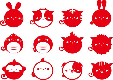 Zodiac red