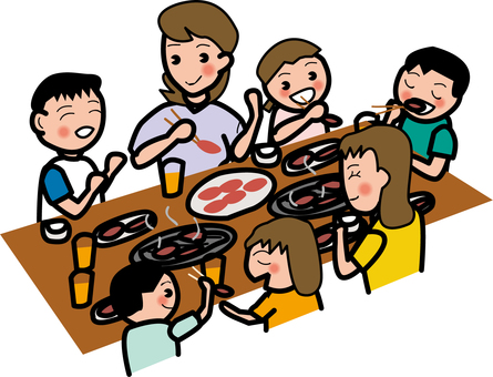 Lunch with family
