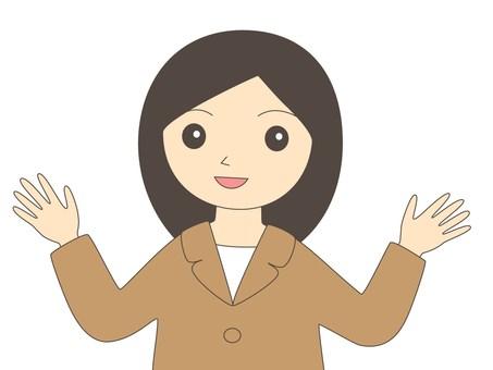 정장 여성 26