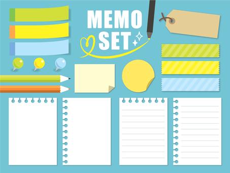 Memo set