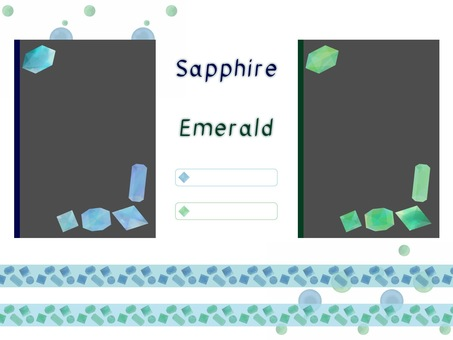 Sapphire emerald