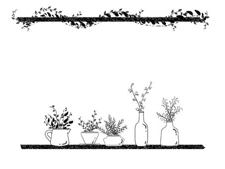 Houseplant frame 02