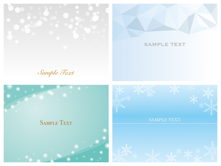 Background material Glittering snow ice