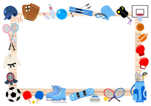 Signs and sports equipment Frame A