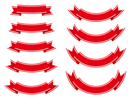 Ribbon 24 wire - red