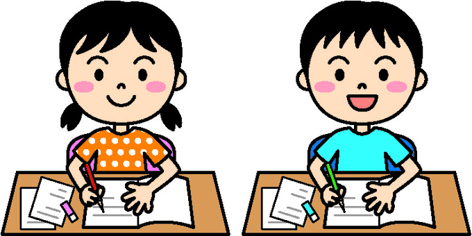 Summer child (homework color)
