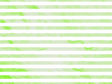 Watercolor water green horizontal stripe