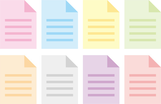 Sticky note, notepad, memo text icon