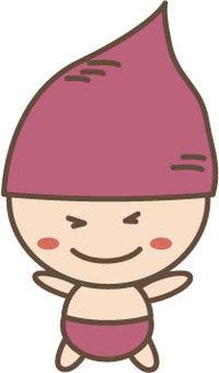 Sweet potato character 2
