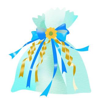 Present light blue