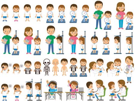 小学生の発育測定