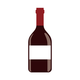Wine bottle (no logo type)