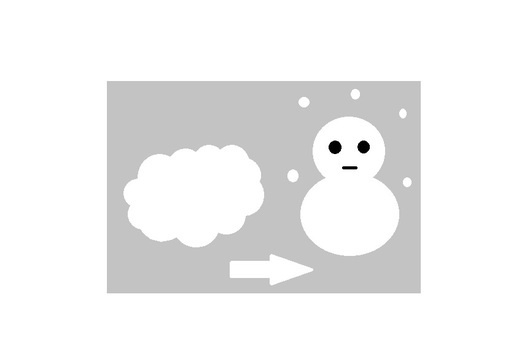 Cloudy and snow 1