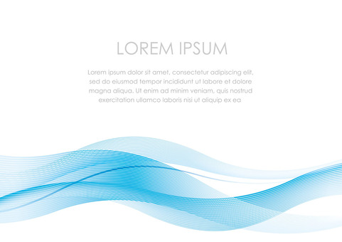 Wave pattern background with text space