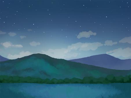 Mountain (Night)