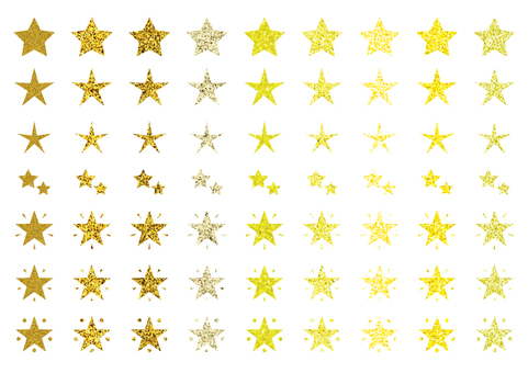 Star icon assortment