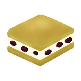Raisin butter sandwich