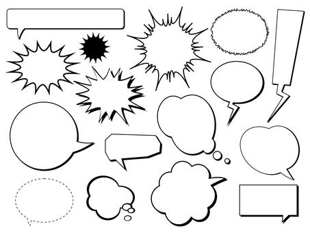 Speech bubble summary