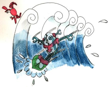 衝浪機器人2