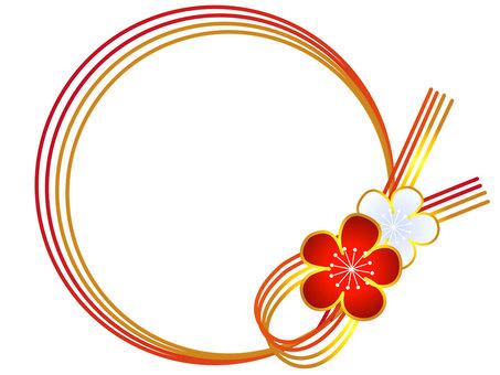 Japanese style circular frame
