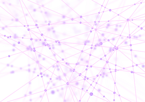 Pink network white abstract background material