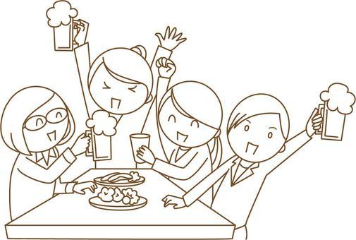 婦女協會·飲酒派對