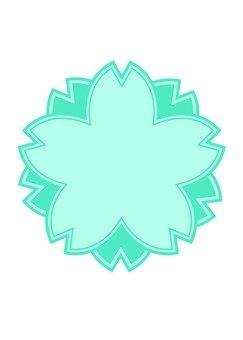 Sakura's mark (blue)