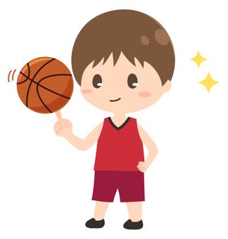 バスケットボール単品_男の子
