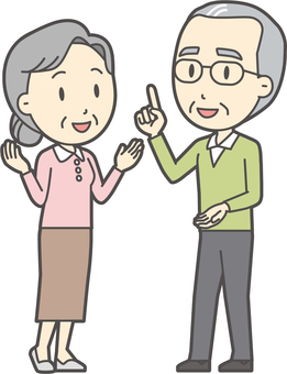 Speaking couple-006-whole body