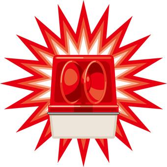 紅色轉向燈