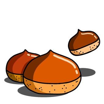 Chestnut × 3