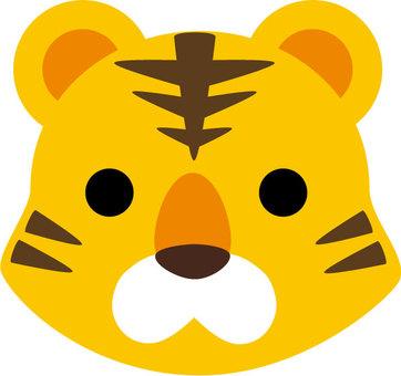 Tiger's head