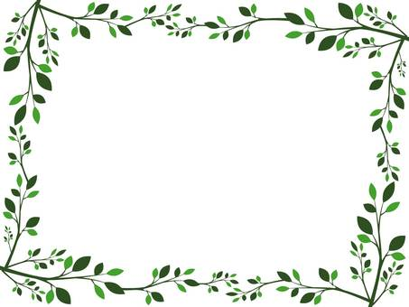 Branch frame green