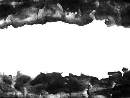 Ink frame material