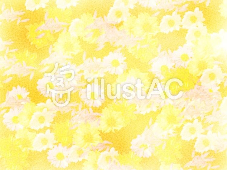イラスト素材 : テクスチャー 背景素材 水彩 黄