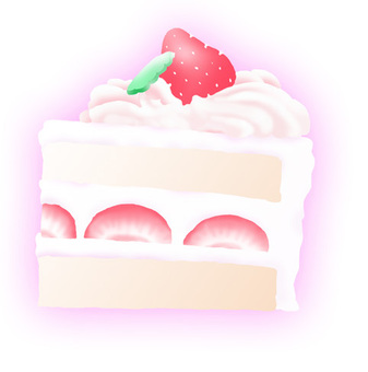 Short cake (strawberry)