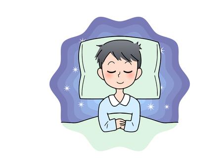 Good sleep (male)