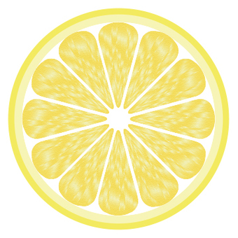 Lemon cross section