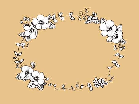 Flower frame 6
