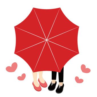 Image of umbrella · love affair