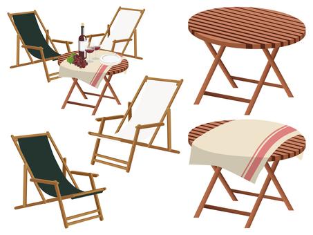 ガーデン チェア & テーブル